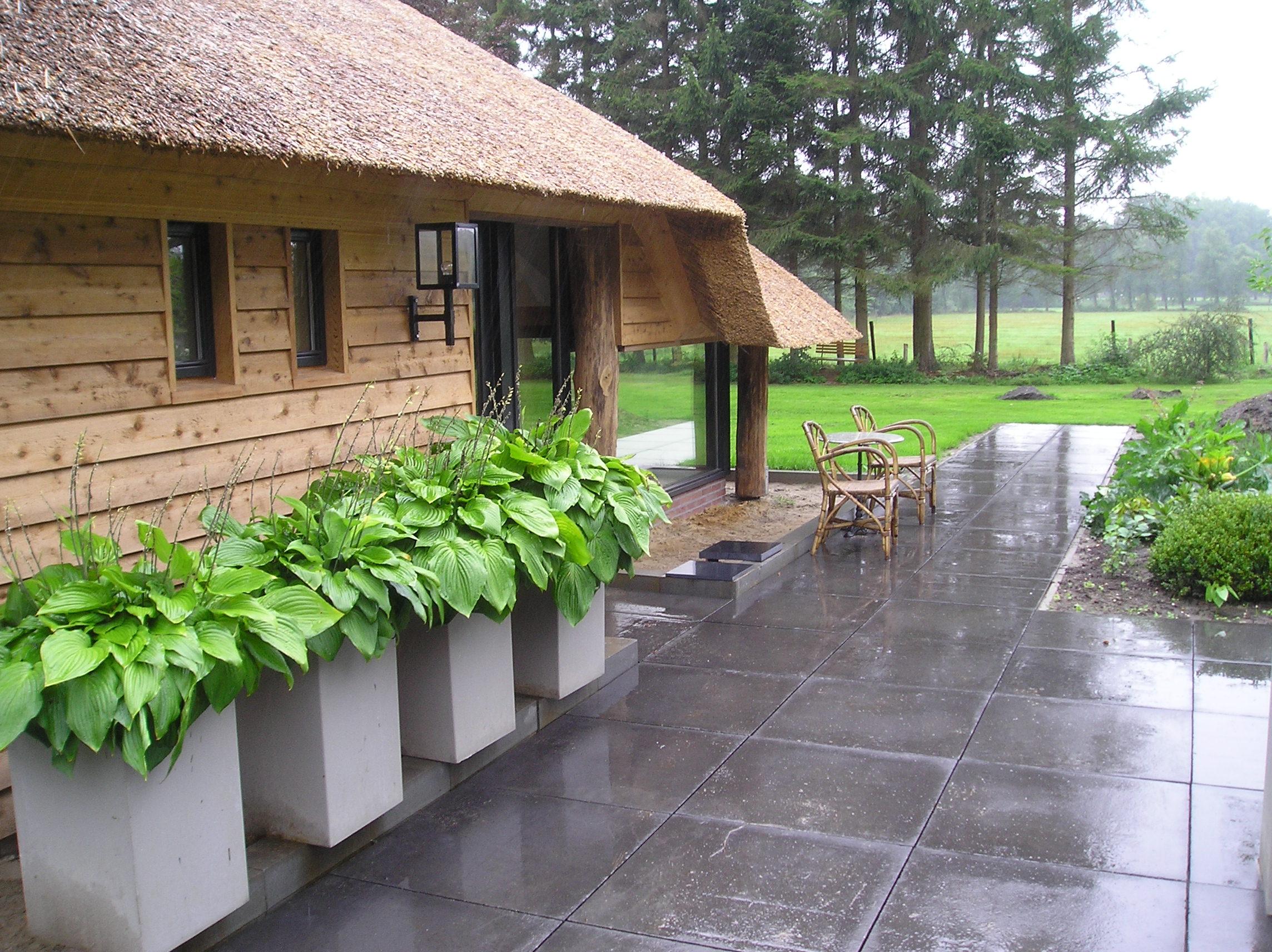 Vos tuinvisie hoveniernederland for Aanleg kleine tuin